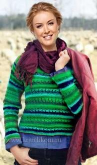 55a0db1ac936 Efektívny pletený sveter na zimu 2015-2016